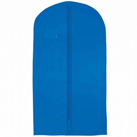 Mid Blue Thick Hanging Clothes Suit & Shirt Cover
